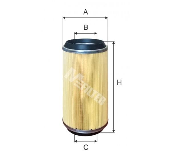 A 1074 Фільтр забору повітря для ДВЗ