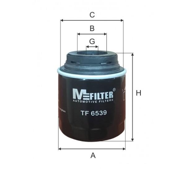 TF 6539 Фільтр для фільтрування мастил у ДВЗ