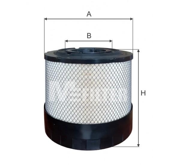A 8082-2 Фільтр забору повітря для ДВЗ