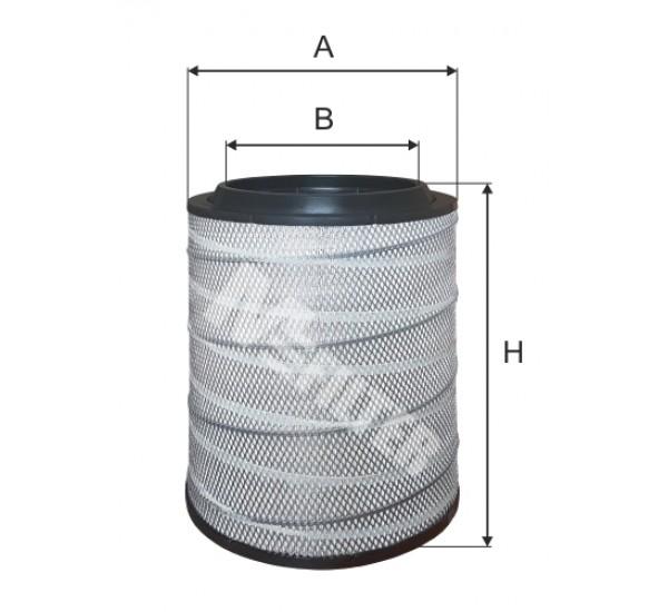 A 8092 Фільтр забору повітря для ДВЗ