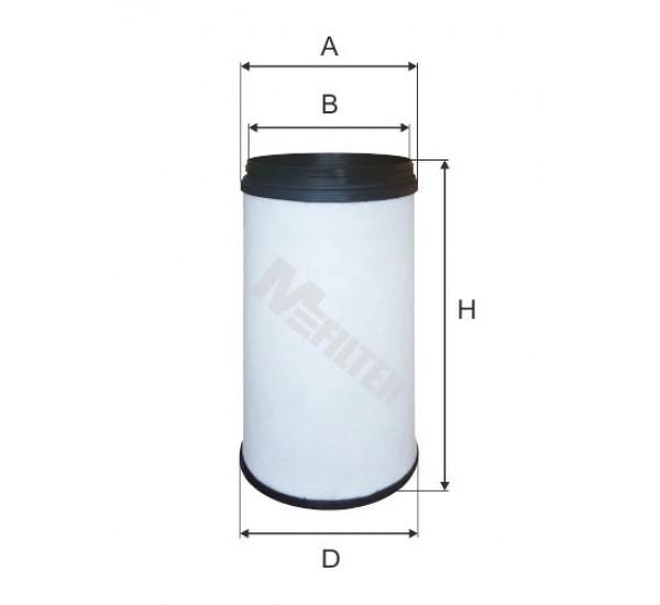 A 8092/1 Фільтр забору повітря для ДВЗ