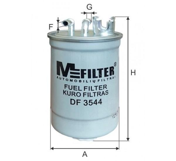 DF 3544  Фільтр для фільтрування палива у ДВЗ