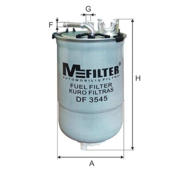 DF 3545  Фільтр для фільтрування палива у ДВЗ