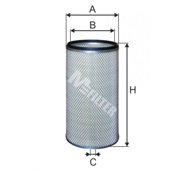 A 8083/1 Фільтр забору повітря для ДВЗ