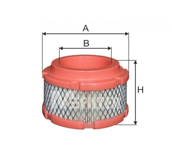 A 8084 Фільтр забору повітря для ДВЗ