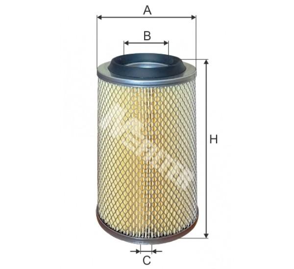 A 8085 Фільтр забору повітря для ДВЗ