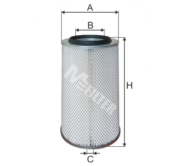 A 138 Фільтр повітряний