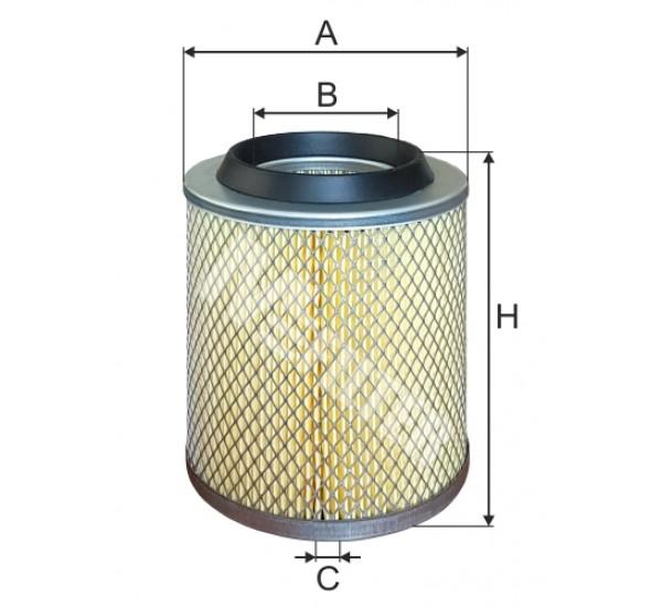 A 140 Фільтр забору повітря для ДВЗ
