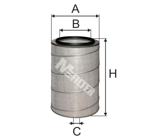 A 152 Фільтр забору повітря для ДВЗ