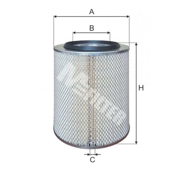A 157 Фільтр забору повітря для ДВЗ