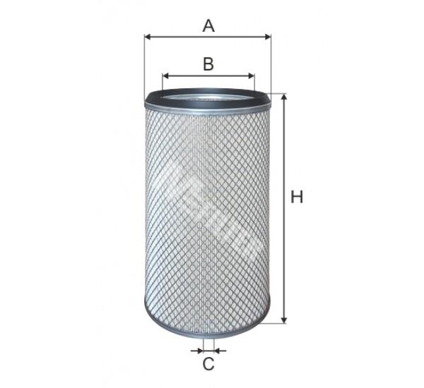 A 1601 Фільтр повітряний