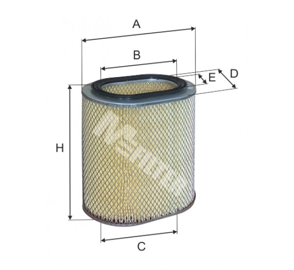 A 238 Фільтр повітряний