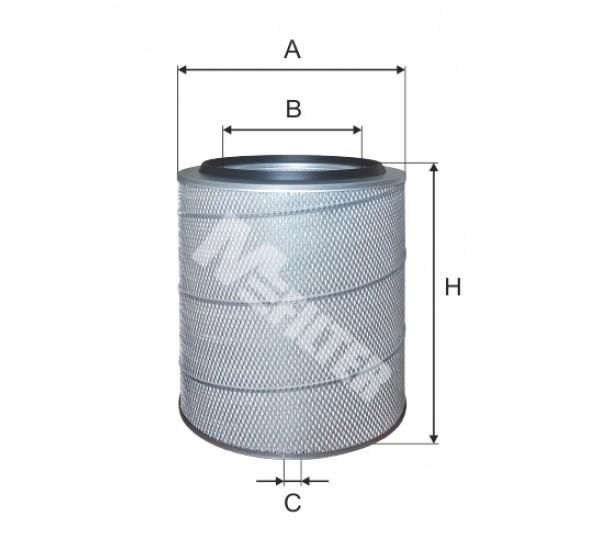 A 256 Фільтр забору повітря для ДВЗ