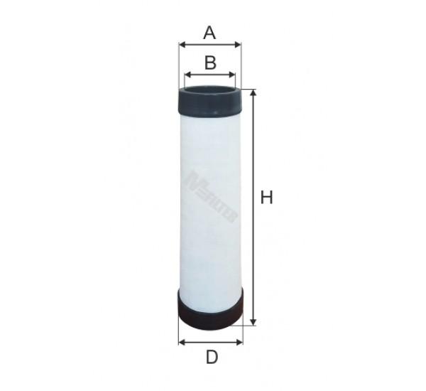 A 1612 Фільтр забору повітря для ДВЗ