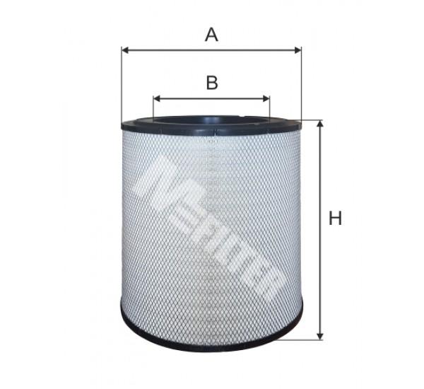 A 8099 Фільтр забору повітря для ДВЗ