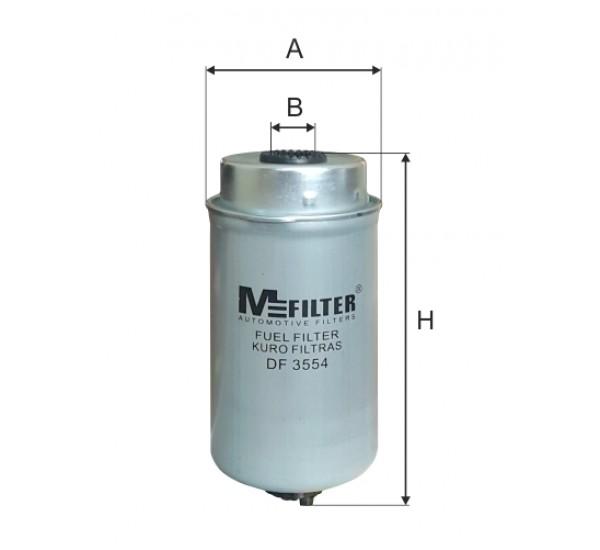 DF 3554  Фільтр для фільтрування палива у ДВЗ