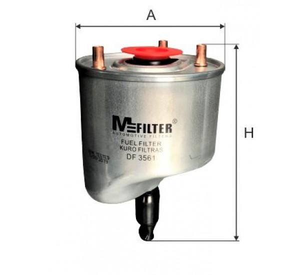 DF 3561  Фільтр для фільтрування палива у ДВЗ