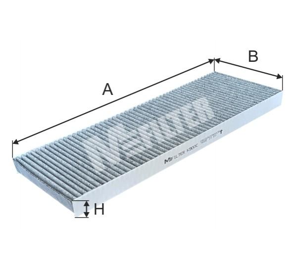 K 900C Фільтр салона