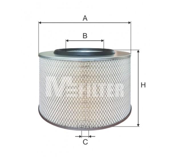 A 330 Фільтр забору повітря для ДВЗ