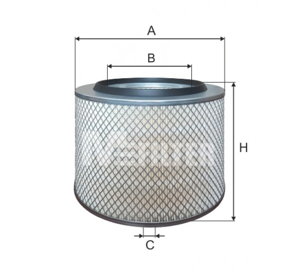 A 348 Фільтр повітряний