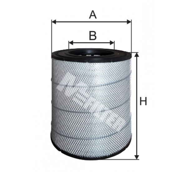A 544 Фільтр забору повітря для ДВЗ