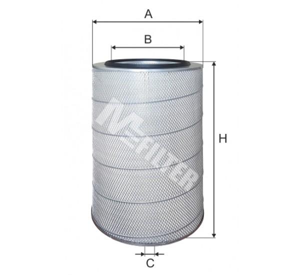 A 567 Фільтр забору повітря для ДВЗ