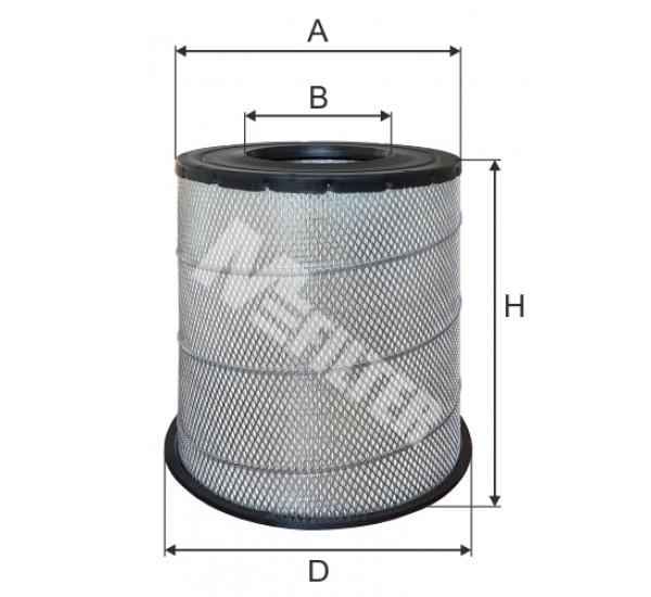 A 579 Фільтр забору повітря для ДВЗ