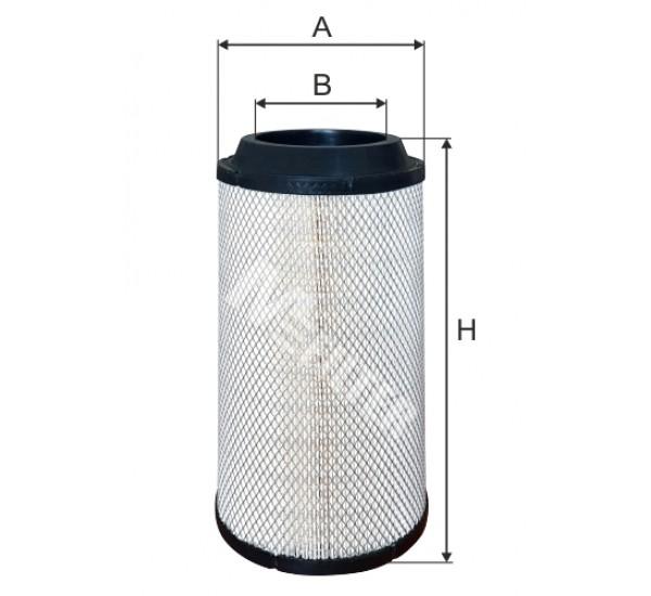 A 581 Фільтр забору повітря для ДВЗ