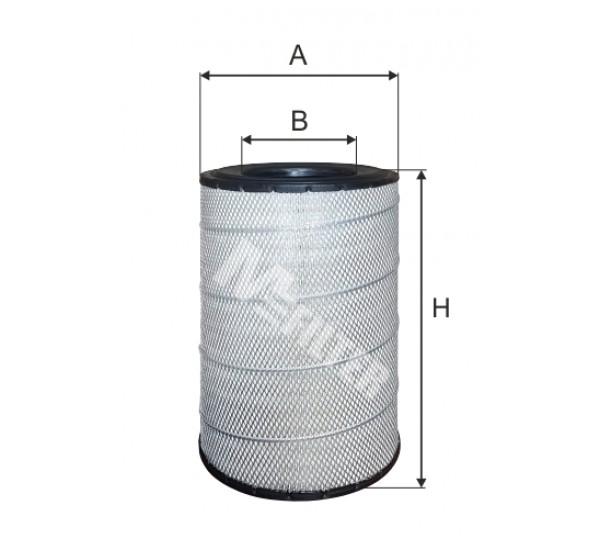A 583 Фільтр забору повітря для ДВЗ