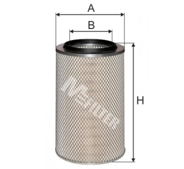A 8010 Фільтр забору повітря для ДВЗ