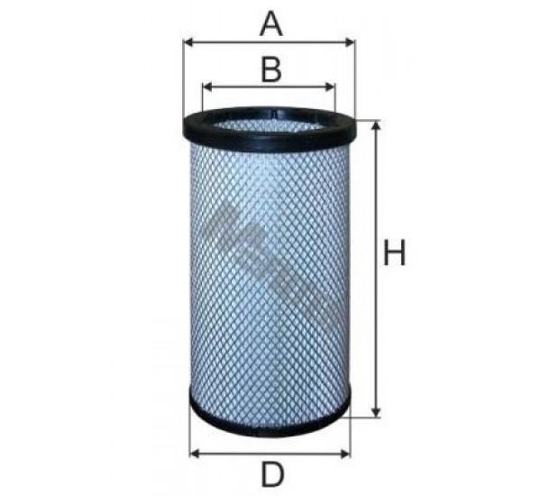 A 804 Фільтр забору повітря для ДВЗ