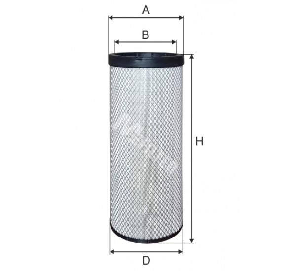 A 804/1 Фільтр забору повітря для ДВЗ