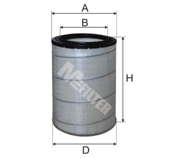 A 816 Фільтр забору повітря для ДВЗ