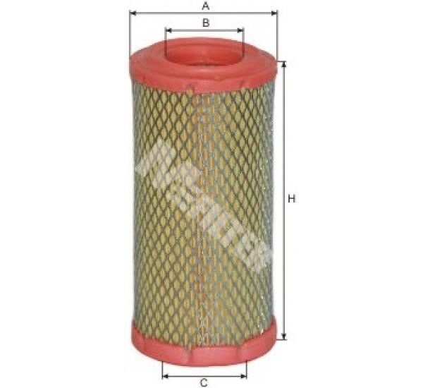 A 827 Фільтр забору повітря для ДВЗ