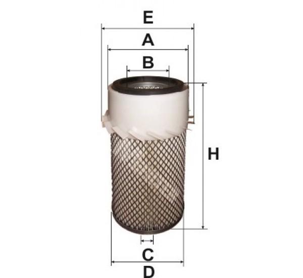 A 835 Фільтр повітряний