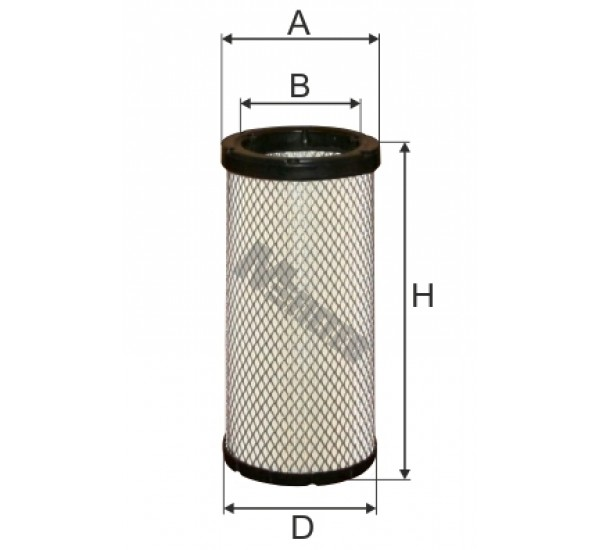A 837/1 Фільтр забору повітря для ДВЗ