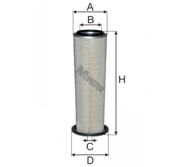 A 838 Фільтр повітряний