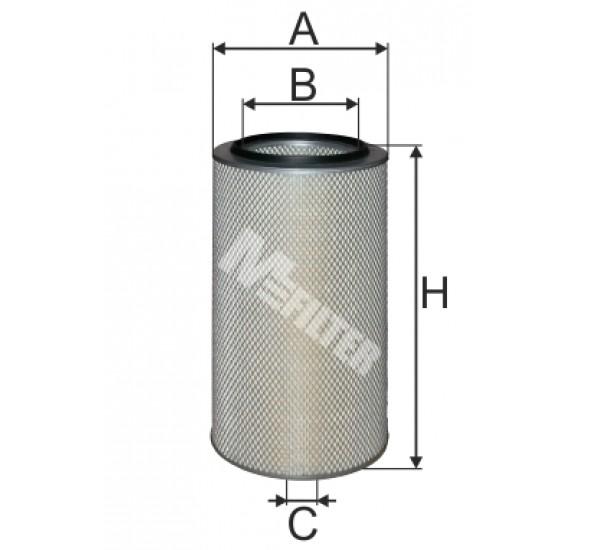 A 839 Фільтр забору повітря для ДВЗ