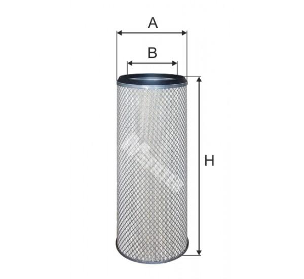 A 839/1 Фільтр забору повітря для ДВЗ