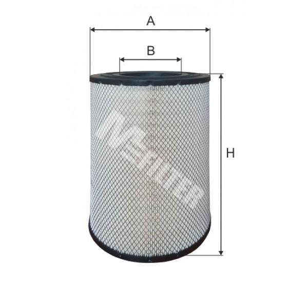 A 842 Фільтр забору повітря для ДВЗ