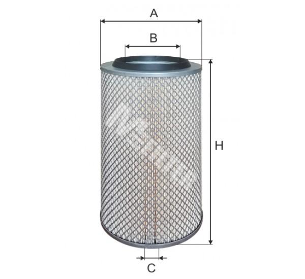 A 844 Фільтр повітряний