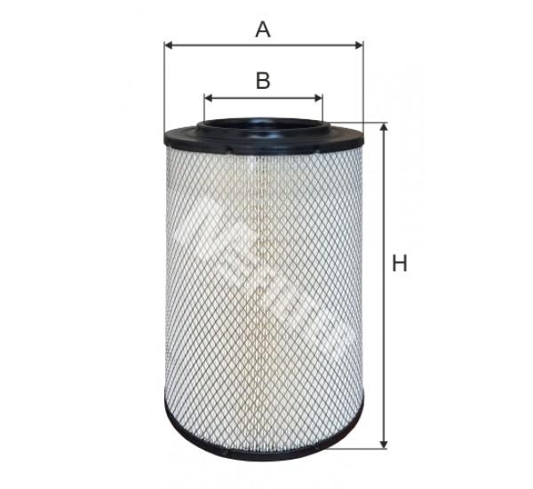 A 848 Фільтр забору повітря для ДВЗ
