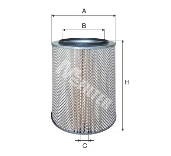 A 860 Фільтр забору повітря для ДВЗ