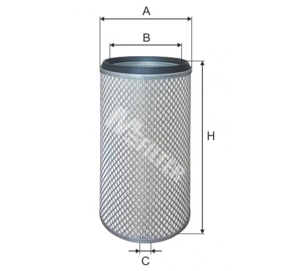 A 860/1 Фільтр забору повітря для ДВЗ