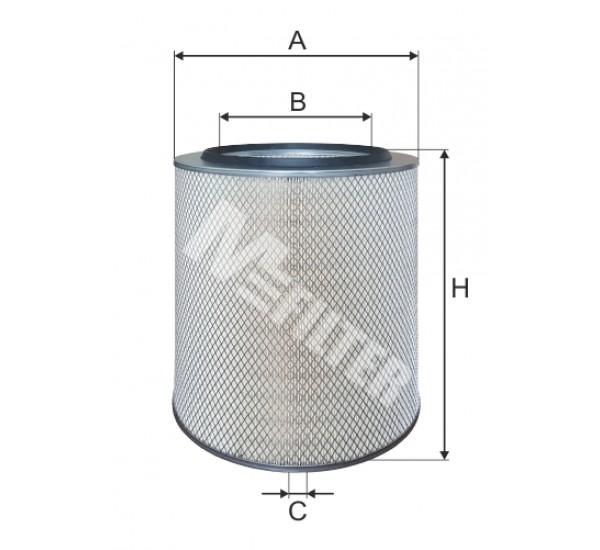 A 870 Фільтр забору повітря для ДВЗ
