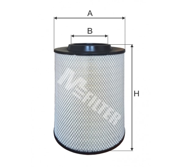 A 874 Фільтр забору повітря для ДВЗ