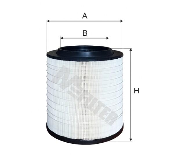 A 887 Фільтр забору повітря для ДВЗ
