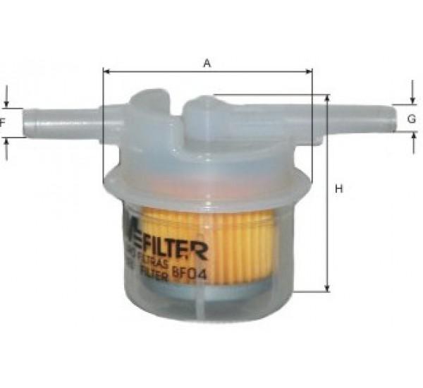 BF 04 Фільтр паливний