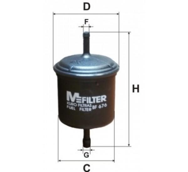 BF 676 Фільтр паливний