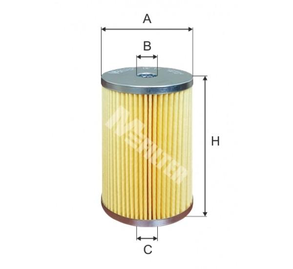 DE 16 Фільтр для фільтрування палива у ДВЗ